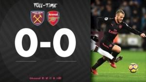 West Ham United 0 – 0 Arsenal [Premier League] Highlights 2017/18